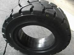 叉车实心轮胎28x9-15