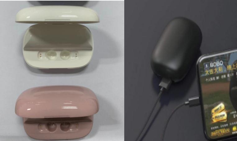 2 in 1 1200mAh (2200mAh optional) Power Bank & Tws Bluetooth Headsets