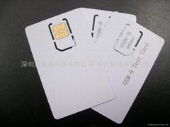 新款安捷伦MICRO WCDMA测试白卡