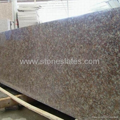 Red Granite Slabs, G687 Granite slab, Peach Red slabs