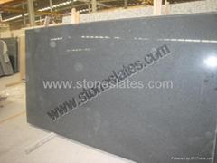 Black Granite Slabs G654 , Absolute Low Price