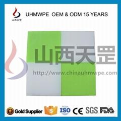 供UHMWPE/UPE/pe1000超高聚乙烯雙色板920萬耐磨抗壓