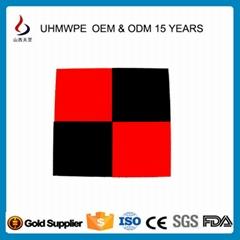 供UHMWPE/UPE/pe1000超高聚乙烯雙色板780萬耐磨抗壓