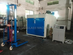 Five Layers Glass EVA vacuum laminating machine ST-LE