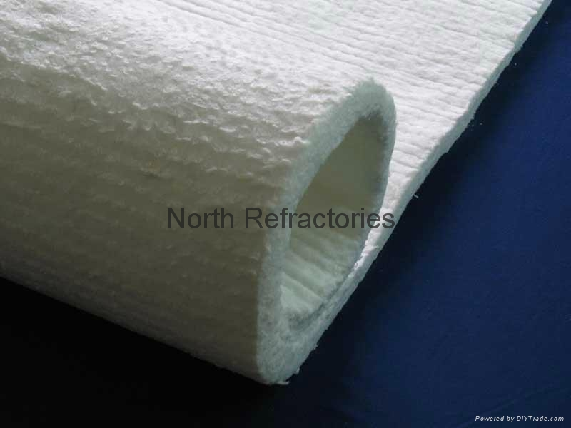 Ceramic fiber blanket thermal insulation nr128 nrcl for Mineral fiber blanket insulation