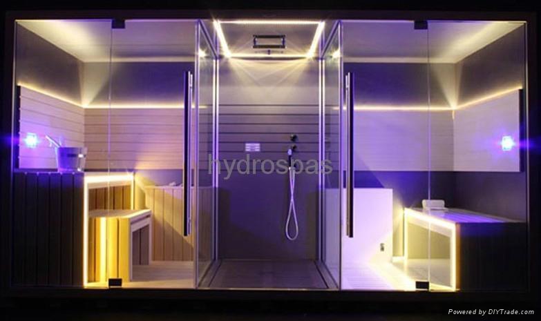 Sauna Shower Steam Room Combination 22 Best Dream Home Spa Bathroom