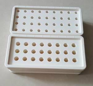 长方形实验室离心管冰盒(0.5ml、1.5ml离心管正反两面)   1