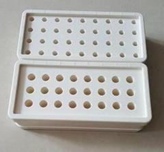 長方形實驗室離心管冰盒(0.5ml、1.5ml離心管正反兩面)