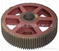 重庆机械剪板机配件大齿轮