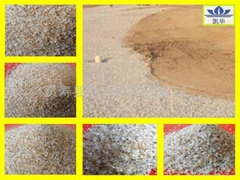 凯华沙滩排球场地专用砂