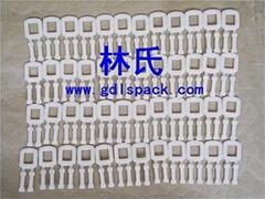 乳白色塑料环保打包扣