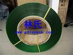 PET綠色塑鋼環保打包帶