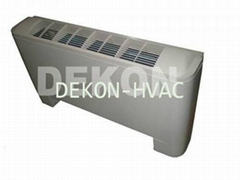 Brushless DC motor Universal type floor and ceiling decrative Fan coil unit
