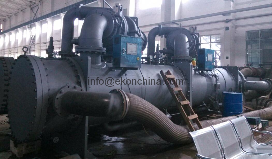 Centrifugal water Chiller for power station 4