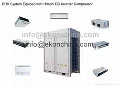 DC inverter VRF/VRV air conditioner