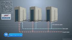 DC inverter VRF air conditioner unit  Hitachi compressor
