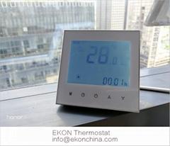 2 pipe FCU thermostat/ 0-10V EC motor /backlit/ModBus-RS485 RTU TF-703 series