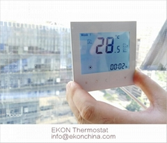 2 pipe FCU room thermostat/ 24VAC /backlit/with ModBus-RS485 RTU TF-703 series
