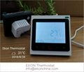 4 pipe FCU room thermostat-Touch button smart WIFI app control TF-704 series