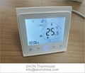 2 pipe FCU thermostat-Touch button thermostat Modbus RS485 RTU TF-704 series