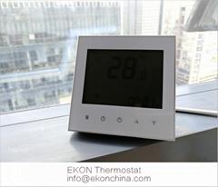 4 pipe FCU thermostat/ 0-10V EC motor /backlit/ModBus-RS485 RTU TF-703 series