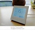 4 pipe FCU thermostat/ 0-10V EC motor /backlit/ModBus-RS485 RTU TF-703 series  3