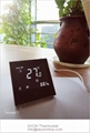 Smart WIFI Negative black screen 2 pipe FCU room thermostat-TF-702 series