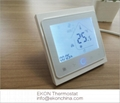 hot water floor heating Room thermostat 3A soft touch control UFH TH-704/GA