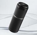 Car cup holding air purifier and air
