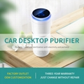 Car cup holding air purifier and air cleaner with UVC and anion generator 7