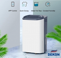 DKD-Z16B 16L portable dehumidifier with HEPA filter and active carbon filter