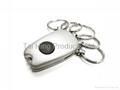 5 Rings Keychain with Light 1