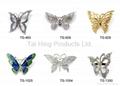 Metal Brooch - Butterfly Series 01~03