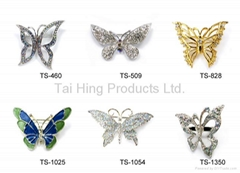 Metal Brooch - Butterfly Series 01~03