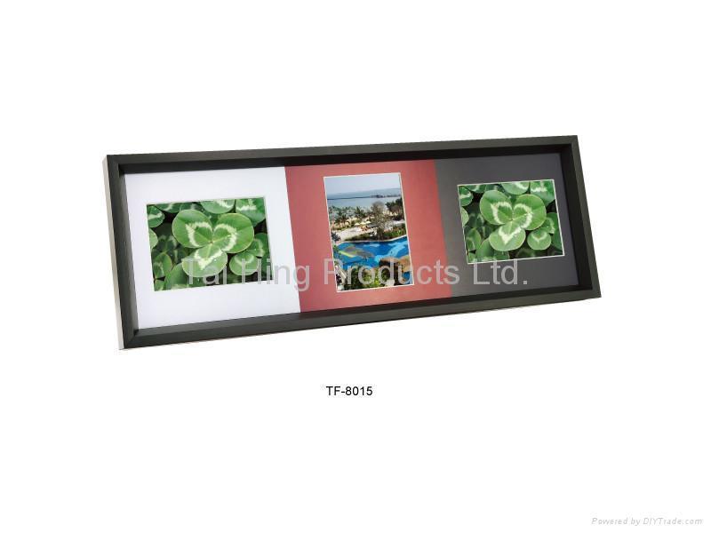 3 pieces Aluminum photo frame  (3コマフレーム) 1