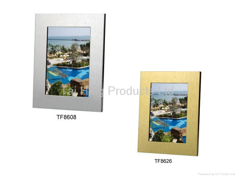 Brushed Aluminum Frame 1