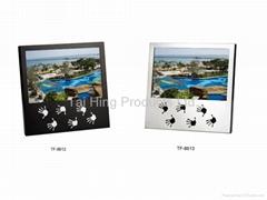 Black/ Mirror Aluminum Frame