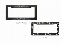 Custom logo License Plate Frame
