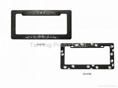 Custom logo License Plate Frame