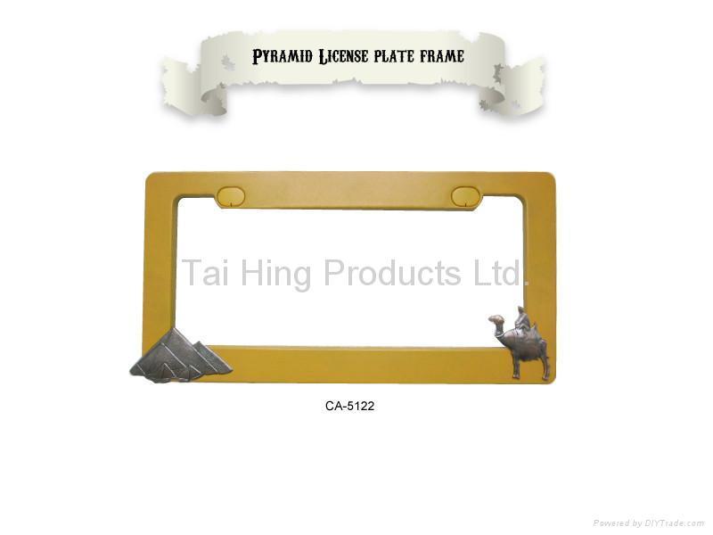 Pyramid License Plate Frame 1
