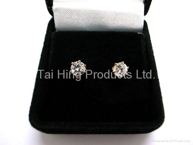 CZ Earrings Gift Set - Round 1