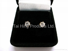 CZ Earrings Gift Set - Round