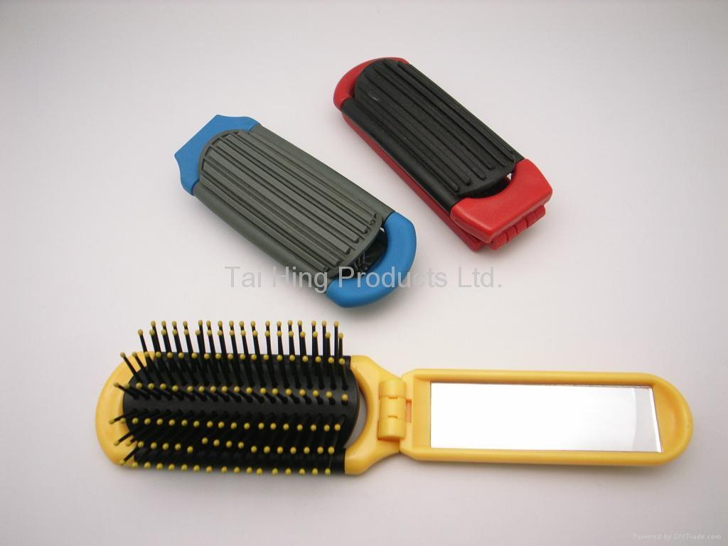 Hair Brush - TK-9700 ( Fold and Flip ) 5