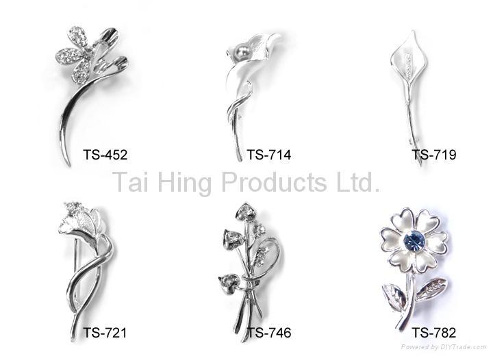 胸針 - 花型系列 04~05 2