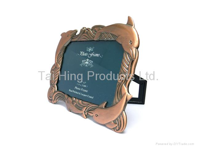 Dolphin Picture Frame - Large 1