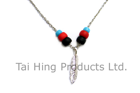 Feather Pendent Necklace (Native American Style) 1
