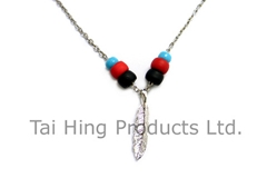 Feather Pendent Necklace (Native American Style)