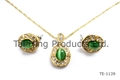 Classic Necklace & Earrings 3