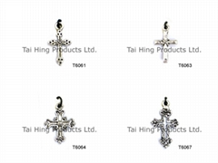Pendent - Cross Shape (Antique style)