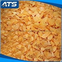 99.99% Zinc selenide  ZnSe crystal blocky vacuum coating material